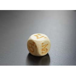Tibetan dice to be used during Manjushri's MO Oracle (NEW version)