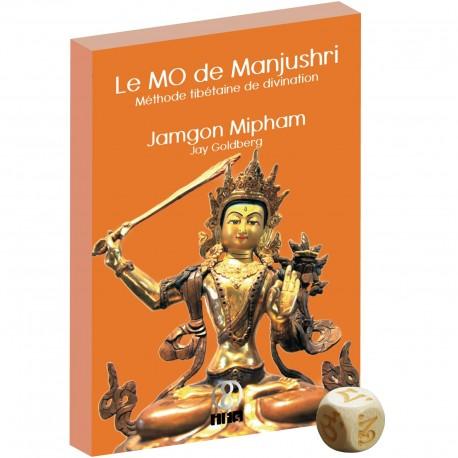Le MO de Manjushri, méthode tibétaine de divination (par Jamgon Mipham et Jay Goldberg) - Set: Livre et dé tibétain
