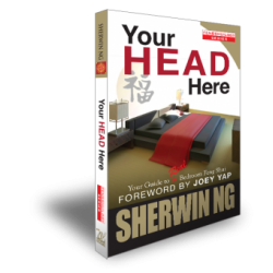 Your Head Here. Your Guide to Real Bedroom Feng Shui by Sherwin Ng