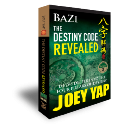 BaZi - The Destiny Code Revealed (Book 2) by Joey Yap