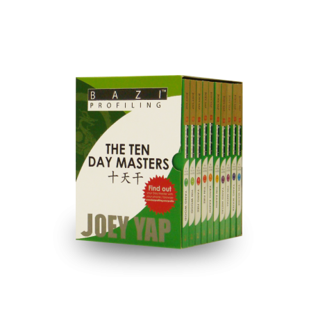 BaZi Profiling - The Ten Day Masters - 10 Books Box Set by Joey Yap