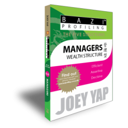 BaZi Profiling - The Five Structures - Managers (Wealth Structure) by Joey Yap