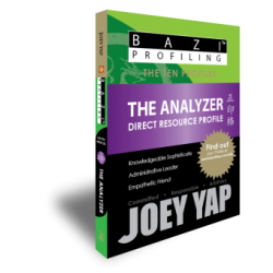 BaZi Profiling - The Ten Profiles - The Analyzer (Direct Resource) by Joey Yap