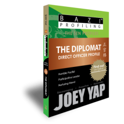 BaZi Profiling - The Ten Profiles - The Diplomat (Direct Officer) by Joey Yap