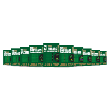 The BaZi 60 Pillars Life Analysis Method - 10 Books Set by Joey Yap