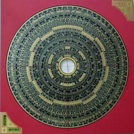 Luo pan zong he 26 cm boussole feng shui infinity - Brujula feng shui ...