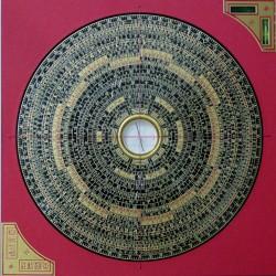 Luo Pan Zong He (22 cm) (Boussole Feng Shui)