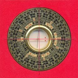 Zhong He Luo Pan met 24 Bergen (8.5 cm)