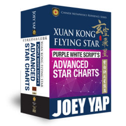 Xuan Kong Flying Star. Purple White Script's Secret Advanced Star Charts by Joey Yap