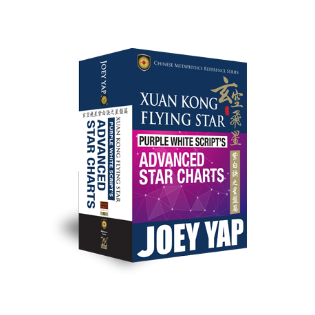 Xuan Kong Flying Star. Purple White Script's Secret Advanced Star Charts by Joey Yap