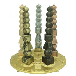Five Cosmic Pagodas