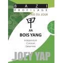 Les Dix Maîtres du Jour - Jia Bois Yang par Joey Yap