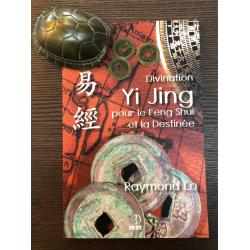 Divination Yi Jing - Set: Livre, Carapace de tortue et 3 Sapèques