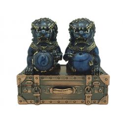Fu Lins on Treasure Suitcase