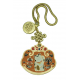 Wealth Cat Gold Lock Coin