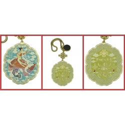 Amulette La Dame des Neuf Cieux