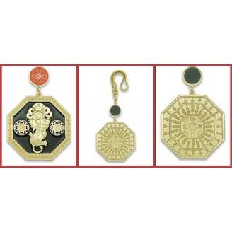 Amulette Pi Yao et Abaque