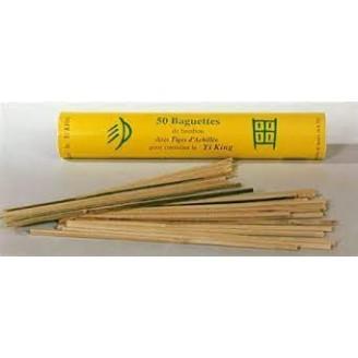 50 bamboestokjes voor Yi...